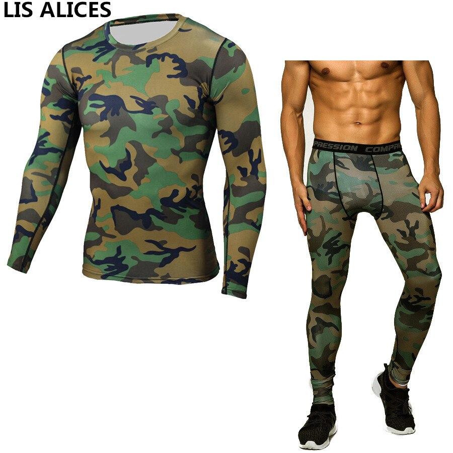 Running Men Pro Conpress Fitness Winter Thermal Underwear Set Quick Dry Gymming Male Spring Autumn Sporting Runs Yogaing Long Johns 1920