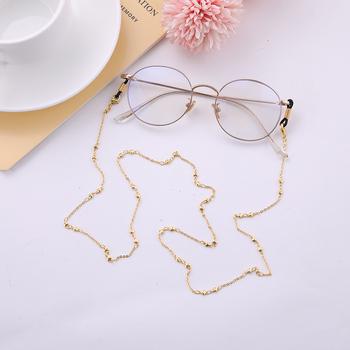 Teamer Fashion śliczne serce łańcuszek do okularów pasek do okularów metalowe okulary przeciwsłoneczne łańcuszek do okularów okulary do czytania uchwyt na przewód akcesoria do okularów tanie i dobre opinie CN (pochodzenie) WOMEN Łańcuchy i smycze Okulary akcesoria 780mm SUNGJY018-1-B-G Ze stopu cynku Stałe Glod Rose Gold