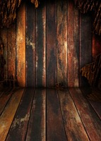 Vinyl print old wood plank room photography backdrops for model stage party photo studio portrait or party backgrounds S 1075