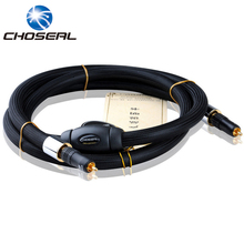 Choseal TB5208 Digital Coaxial Cable OCC Stereo HI-FI Super AV Cable For Amplifier Home Theater 1.5M Single Crystal Copper Braid