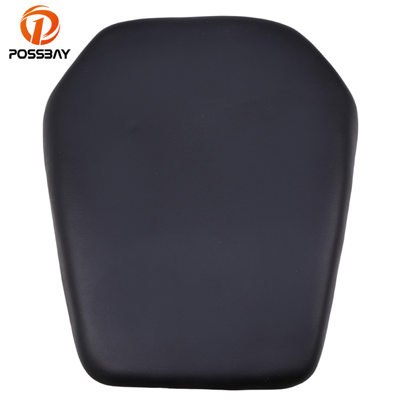 POSSBAY Motorcycle Rear Passengers Seat Cover ATV Motorbike Parts Leather Seat For Honda CBR1000 2008 2009 2010 2011 2012