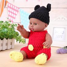 Cute Newborn African Baby Kid's Doll