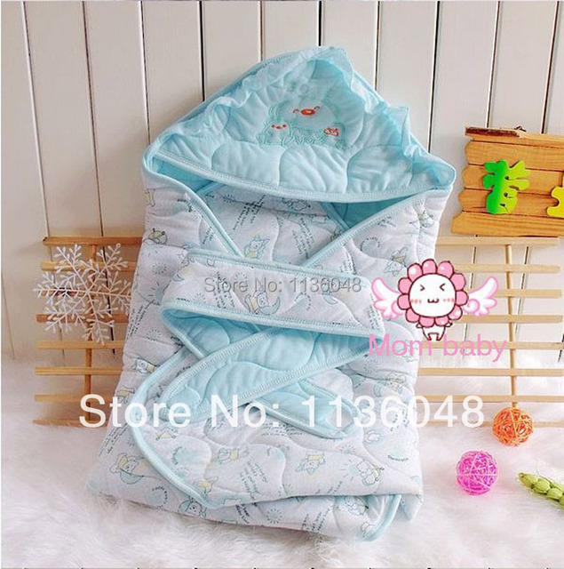 Free shipping The whole network autumn and winter parisarc baby holds newborn holds blankets baby sleeping bag 92X92cm