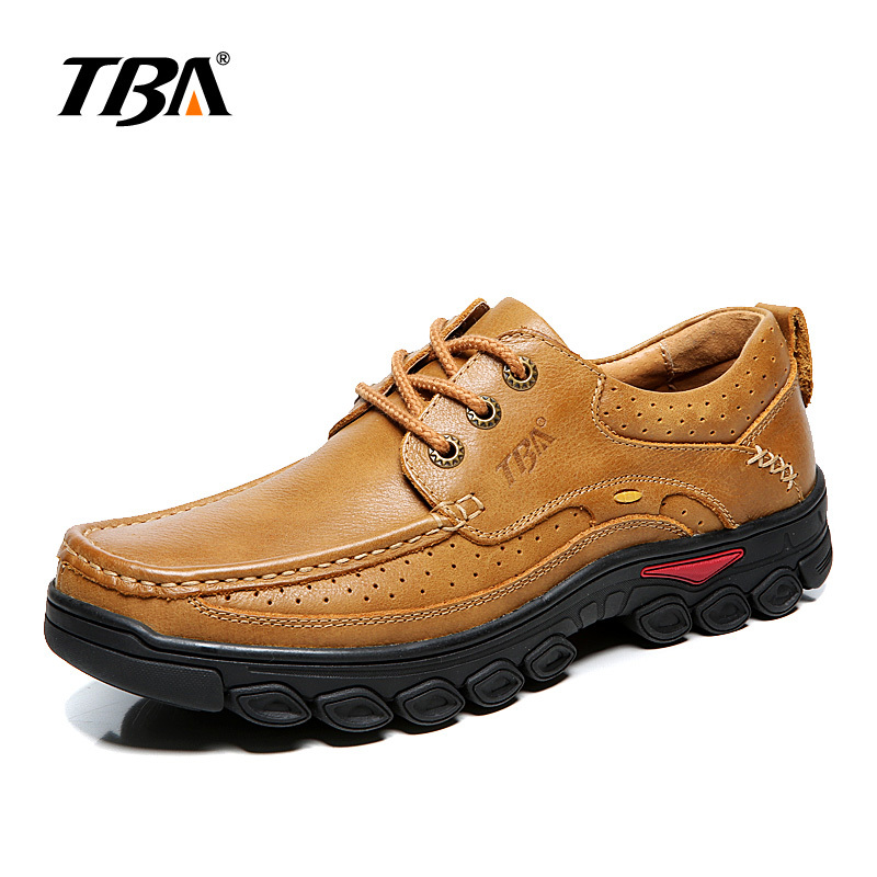 2017 TBA autumn Mens wear-resistant outdoor sports shoes low cut lace-up sneake light breathable hiking shoes TBA6865