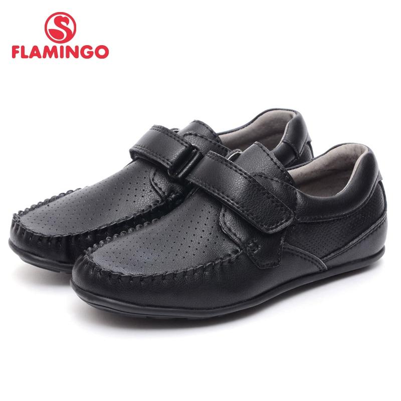 купить FLAMINGO 2016 new arrival spring & autumn kids shoes fashion high quality classic school shoes for boys XT4853-1 онлайн