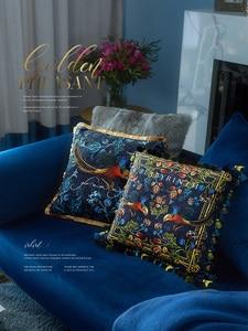 Image 5 - Nhà Trang Trí Sofa Gối Sáng sang trọng Retro gà vàng sang trọng Ghế sofa đệm giường đệm tựa lưng Bao Da vỏ gối