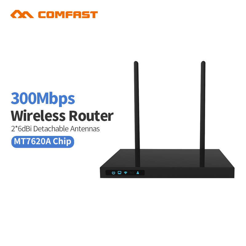 Comfast CF-WR620N 300Mbps AC Credential administrative router MTK7620A WIFI repeater Router Repetidor 14dBi Antenna AC Roteador administrative law case digest