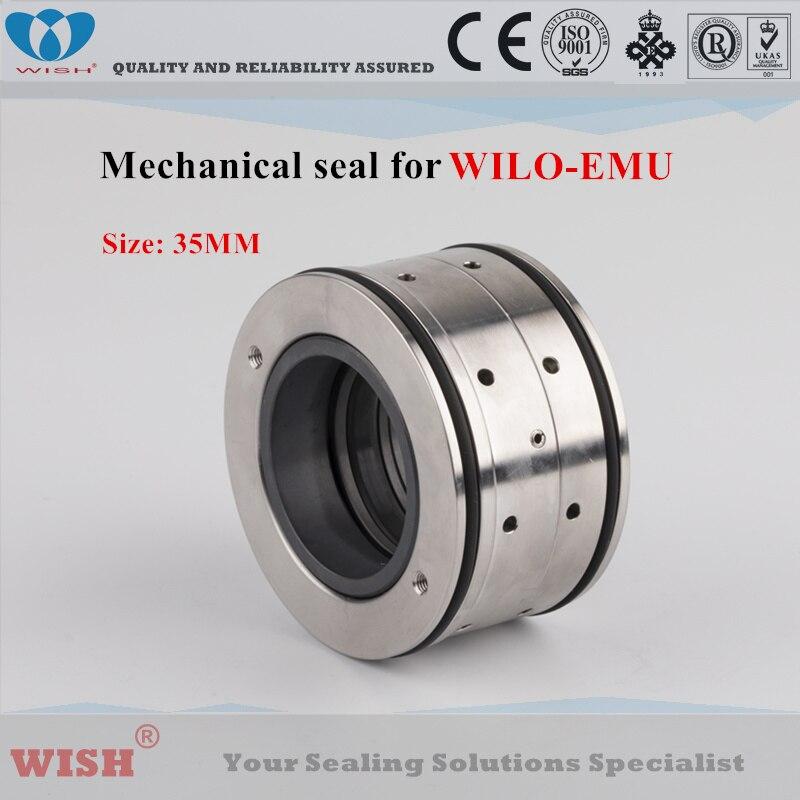 Joint mécanique de 35 MM pour les pompes submersibles de swage de WILO-EMU 6037442