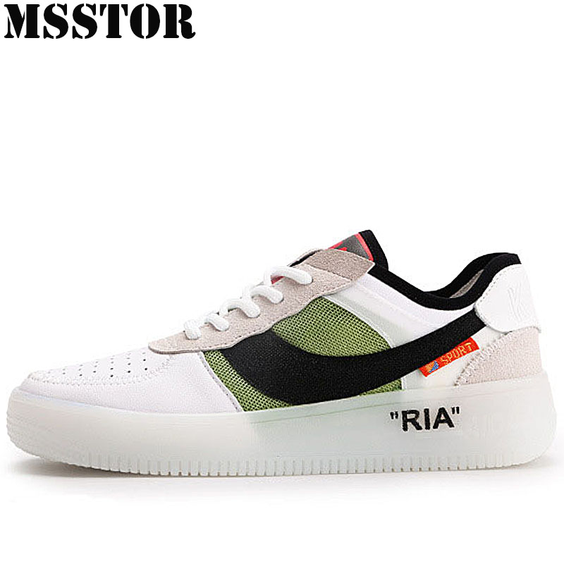 MSSTOR 2018 Women Running Shoes Woman Brand Sports Run Outdoor Athletic Womens Sneakers Genuine Leather Sport Shoes For Women 2017brand sport mesh men running shoes athletic sneakers air breath increased within zapatillas deportivas trainers couple shoes