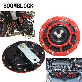 Boomblock 2ピース/セット車オートバイスピーカー切り札警報部用プジョー307 206ジープフォードフォーカス2 3 vwポロゴルフ4 5 7トゥーランt5