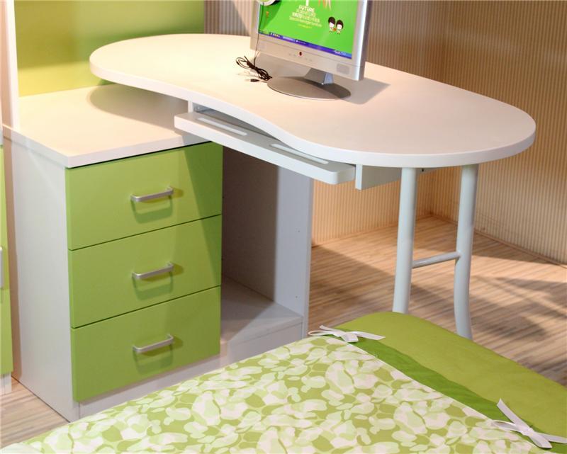 tienda online muebles de de los nios escritorio de la esquina curvada elegante mvil escritorios escritorio de la computadora estantera