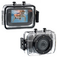 """Winait DV-123SD HD 720P Cheapest Sport Action Camera 1.77"""" Screen 4X Zoom Under Water Camera Sport Camera With Accessories"""
