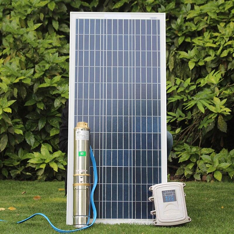 Солнечный глубокий колодец pump123m бесщеточный высокоскоростной Солнечный глубокий водяной насос с постоянным магнитом синхронный мотор Сол