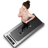 Mini Treadmill Fitness Equipment Easy To Run Treadmill Home Mute Flat Treadmill Body Building With /Without Handrail