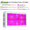 Led Grow Plant Lamp Double Chips Full Spectrum 1200W 1500W 1800W 410 730nm Uv Light