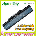 Apexway 4400 mah 10.8 v bateria para acer as07a31 as07a32 as07a41 as07a42 as07a51 as07a52 para aspire 2930 4710 4730 5735 5740