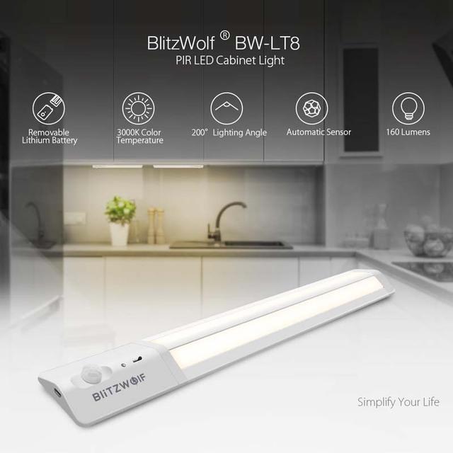 Intelligent Smart LED Motion Sensor LED Light