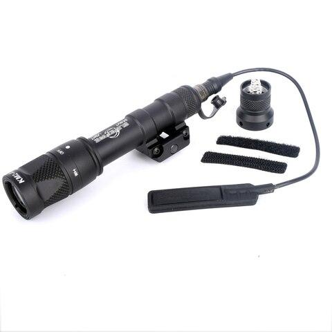 branca rifle tocha lanterna com montagem trilho picatinny