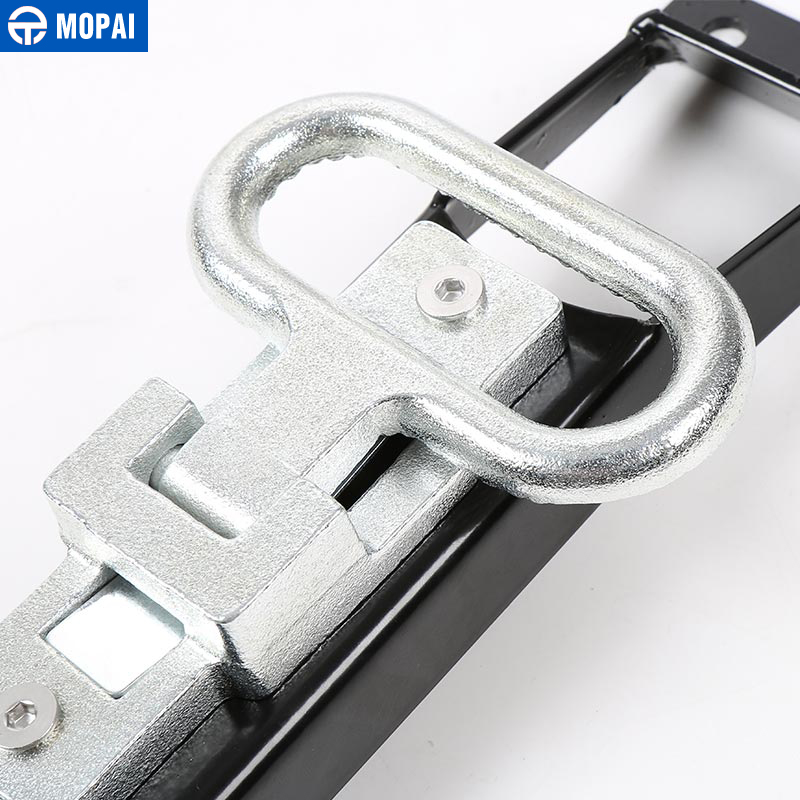 Image 5 - MOPAI Car Exterior Door Hinges Pegs Metal Foot Rest Pedals Foot Plate for Jeep Wrangler 2007 Up Car Accessories Car Styling-in Chromium Styling from Automobiles & Motorcycles