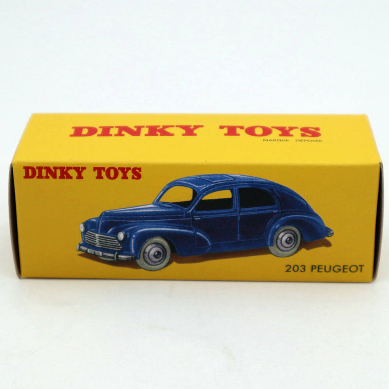 Atlas <font><b>1</b></font>/<font><b>43</b></font> Dinky toys 24R 533 <font><b>Peugeot</b></font> 203 Diecast <font><b>Models</b></font> Limited Edition Collection image