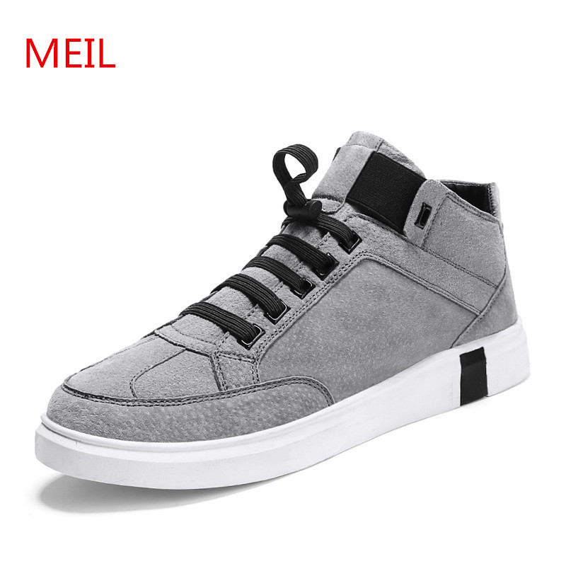 MEIL New men shoes outdoors zapatillas hombre casual shoes men fashion chaussure homme sneakers leather shoes men loafers 2016 new fashion genuine leather men casual oxford shoes zapatillas hombre hot sale good quality comfortable male shoes