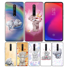 Phone Pattern Black Rubber Soft Silicone Case Bag Cover for Redmi 7A Note 7 6 7S Y3 K20 Pro Core Shell Tatty Teddy Me To You гуашь action tatty teddy 6 цветов bnf agp 6 e