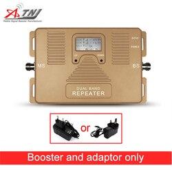 Di alta Qualità! doppio Bnad 2G + 3G + 4G 1800/2100 mhz Completa di Smart mobile del segnale del ripetitore del ripetitore solo amplificatore del segnale del telefono cellulare Booster!