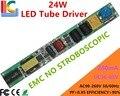 Não estroboscópica 12 W 18 W 24 W LEVOU Motorista 36 V para 85 V 280mA FCC EMC CE Entrada da fonte de Alimentação 110 V 220 V Tubo T5 T8 T10 transformador