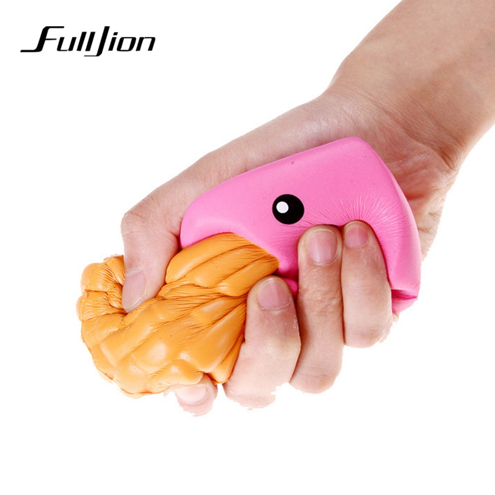 Fulljion Squishe Antistress Stress Relief Toys Squishy Slow Rising Novelty & Gag Toys French Fries Fun Popular Practical Jokes