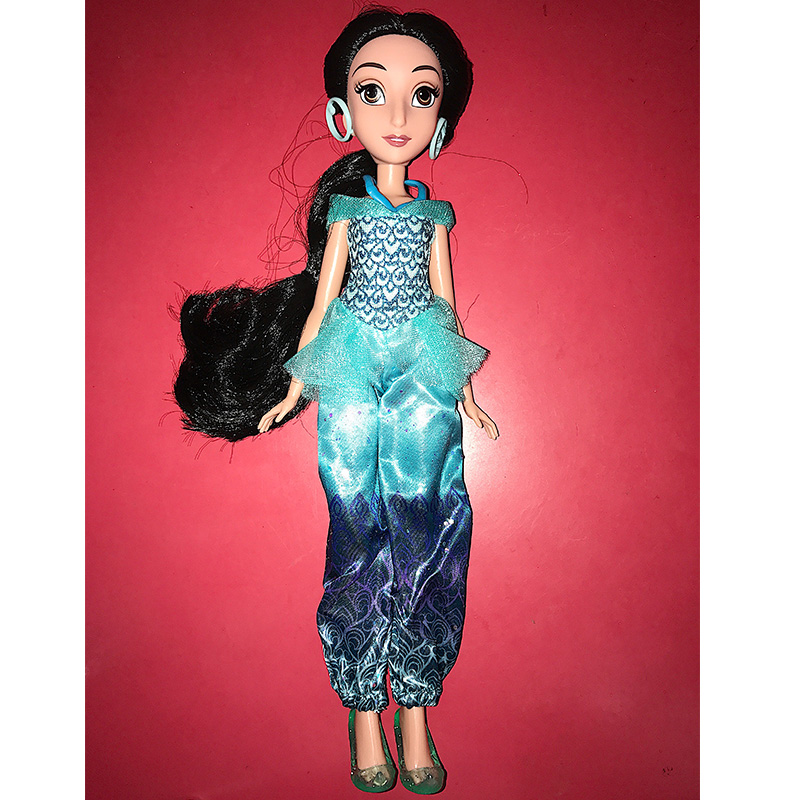 doll toy 28cm princess jasmine Doll and accessories genuine doll For girls toy-in Dolls from