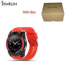 Android Smart watch smartwatch Support SIM Card For Android Samsung Phone for samsung smart watch v8