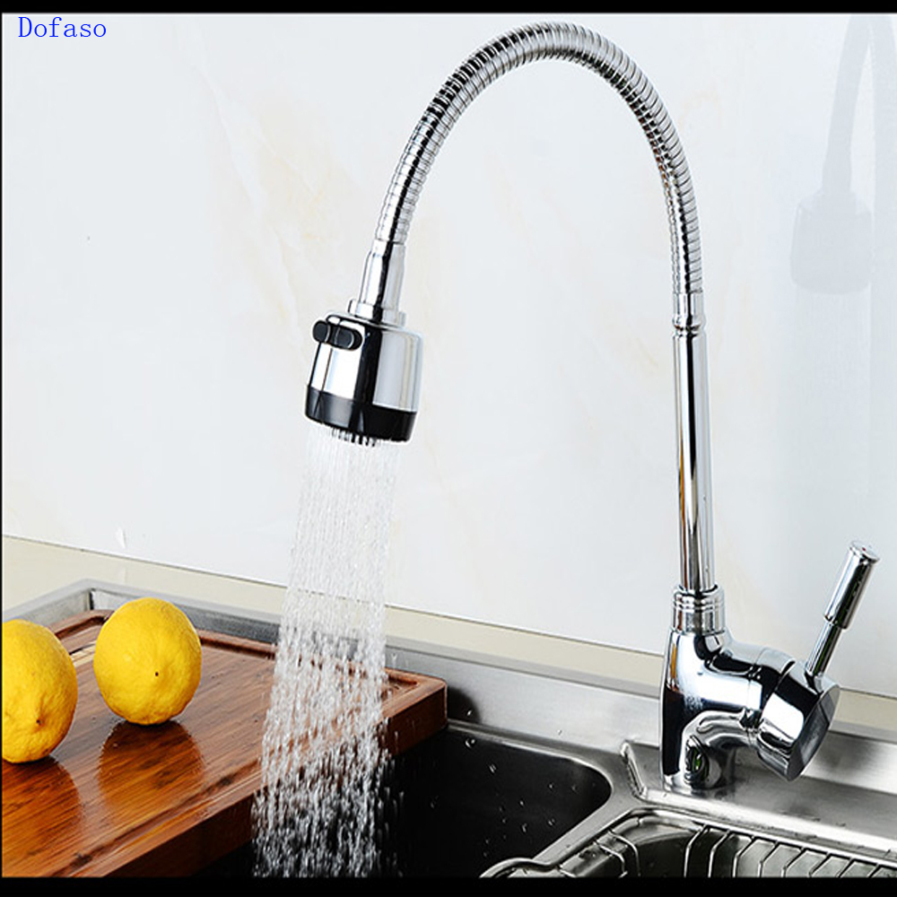 Dofaso copper kitchen faucet torneira cozinha Kitchen tap hot and cold kitchen mixer sink tap sink