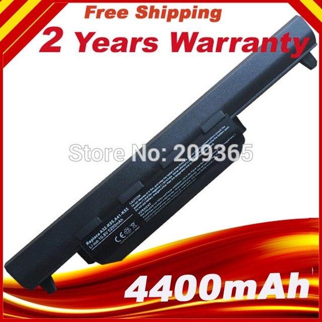 Laptop Battery A32-K55 For Asus X55U X55C X55A X55V X55VD X75A X75V X75VD X45VD X45V X45U X45C X45A U57VM U57A R700VM R700VD