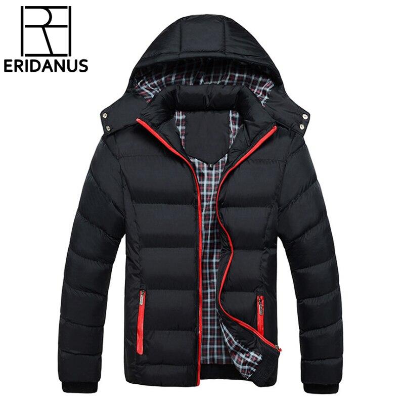 Férfi téli kabát 2016 Meleg kabát vastag Parka Chaquetas Plumas - Férfi ruházat