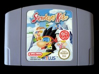 64 משחקים קצת ** סנובורד ילדים 1 (אנגלית גרסת PAL!!)