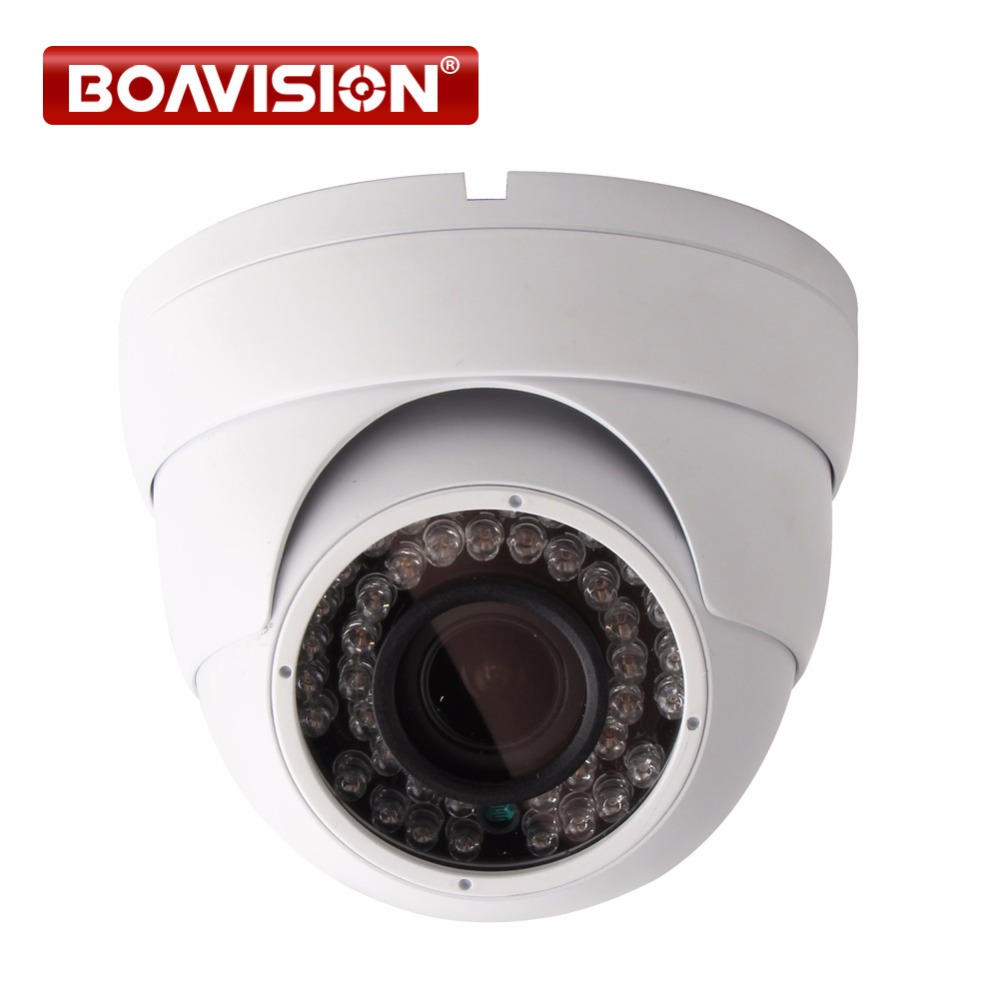 2MP 1080P POE Dome IP Camera IR 30M Waterproof CCTV Camera With POE PC&Mobile View Onvif Auto Iris 2.8-12mm VariFocal Lens P2P sunell e3un vandalproof 2mp network ip dome poe camera varifocal 2 8 12mm lens security camera sd card slot onvif no ir led