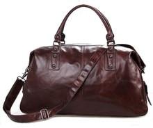 Men Travel Duffle Bag Large Capacity Cow Leather Handbags 2018  Business man  Brand Luxury Designer  Shoulder Crossbody bags