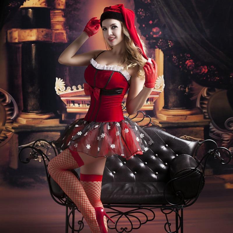 Sexy santa costumes, mrs santa claus costume, women's santa costume