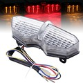 Motorcycle Smoke LED TailLights Brake Tail Lights Integrated Turn Signals For Yamaha YZF R6 2003 2004 2005
