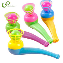Toy-Pipe Suspended-Ball Ball-Hanging Magic-Toys Blowing Educational Children's 2pc/Lot