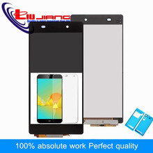Liujiang New LCD Display For Sony Z2 L50W D6502 D6503 Digitizer Touch Screen Assembly Pantalla + Adhesive Stickers