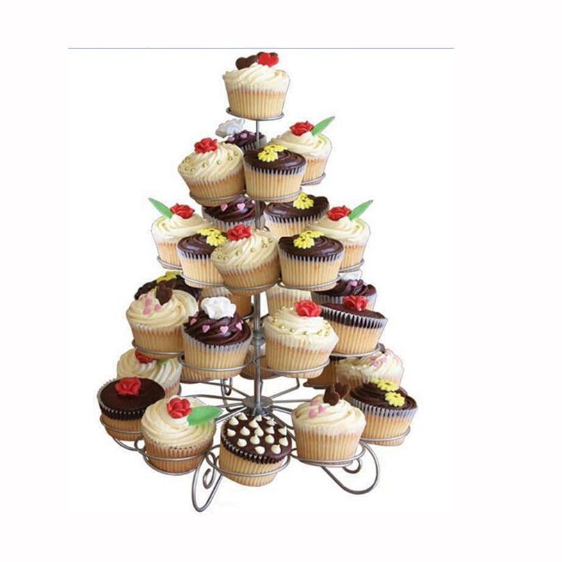 Weihnachten cupcake stand muffin halter diy hochzeitstorte regal weihnachten kuchen dekorieren - Hochzeitstorte dekorieren ...