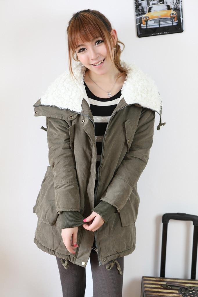 warm coat,long coat,girls winter jacket. Cute style/A9-in Clothing ...