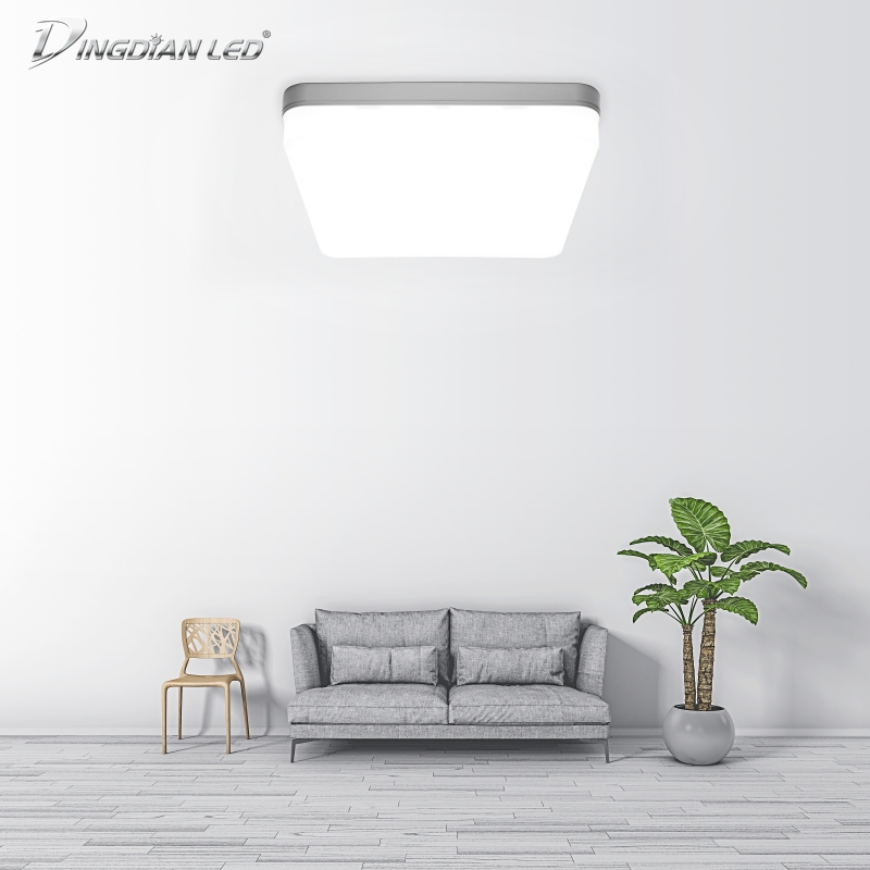 185-265V LED Square Ceiling Light Indoor Modern Light Surface Mounted Simple Install Corridor Bedroom 18W/36W/48W Ceiling Lamp