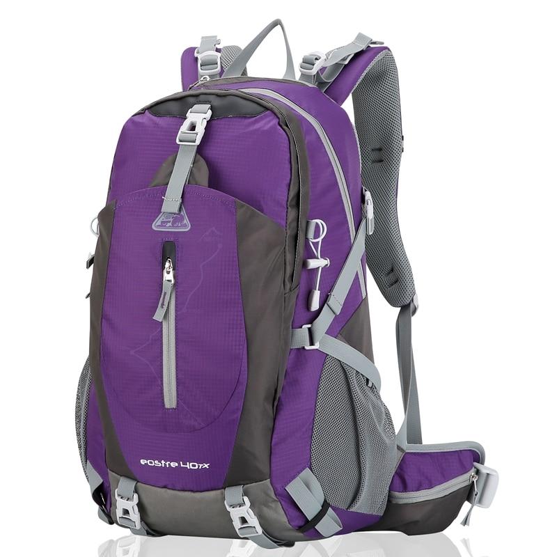 5bd8350938ed US $35.99 |KIMLEE 40L Backpack Travel Daypacks Outdoo Bag Camping Pack  Trekking Rucksacks for Men Women Mountaineering KCB4028U-in Backpacks from  ...