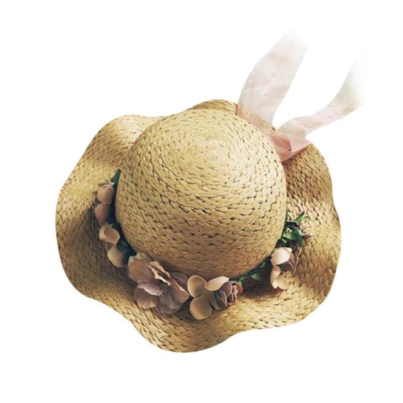 Chapeaux pour Filles d'été chapeau De Paille sunhat Enfants Enfants Maman Chapeaux Chapeau Casquettes photo props Enfants soleil chapeau B3
