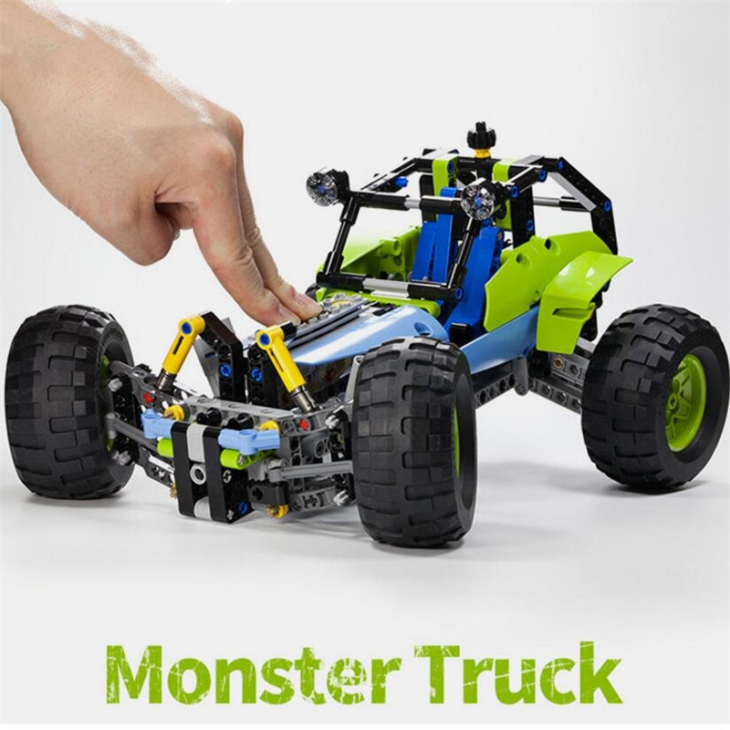 Technic RC TRACKED RACER Car Electric Motor Power Function Fit Legoings technic City Building Block Bricks Model Kid Gift