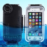 PULUZ for iPhone 8 & 7 for iPhone 6 & 6s 40m/130ft Waterproof Diving Housing Photo Video Taking Underwater Cover Case