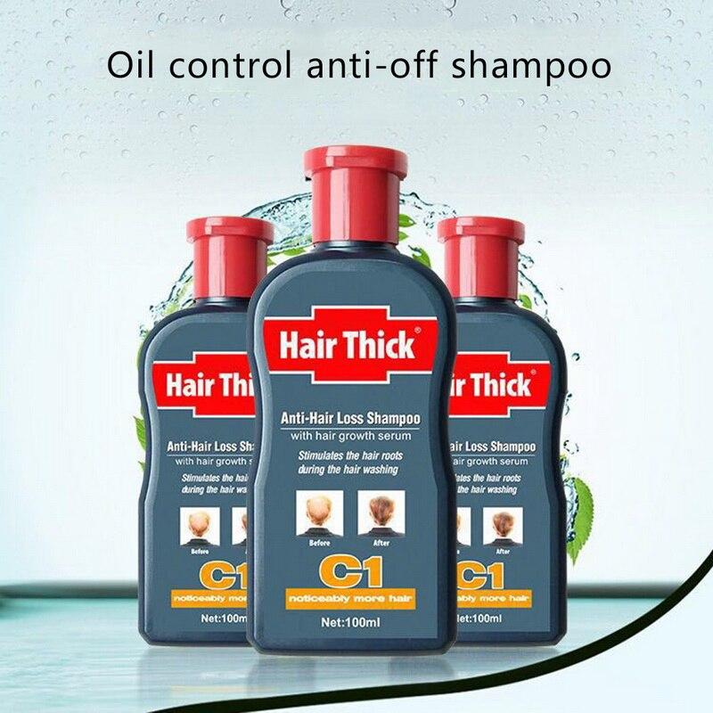 Anti-Hair-Loss-Shampoo Hair-Growth-Product Herbal Anti-Dandruff Oil-Control 100ml Unisex