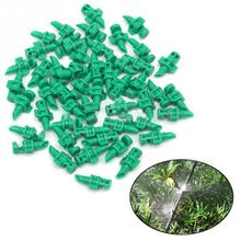 50Pcs/lot 180 Degree Micro Garden Lawn Water Spray Misting Nozzle Sprinkler Irrigation System
